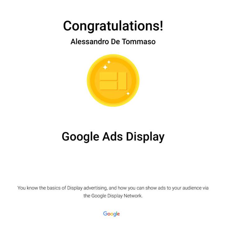 Google Ads Mobile Certification: Google